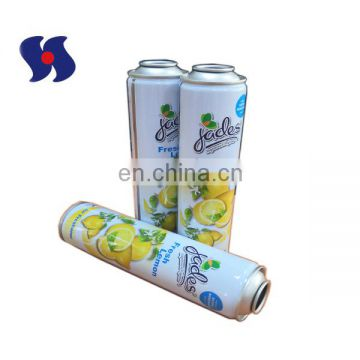 52*195mm  CMYK Printing Aerosol Tin Can for Air Freshener