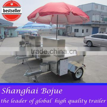2015 hot sales best quality foldable hot dog cart shanghai hot dog cart portable hot dog cart