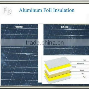 composite panel double-sided reflective aluminum foil insulation for floor