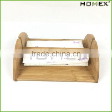Bamboo Paper Napkin Holder with Lift Bar Homex BSCI/Factory