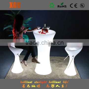 GF311 party led light cocktail table with remote control