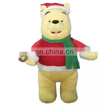 2017 plush stuffed 36inch Christmas Bear toy China plush toy manufacturer