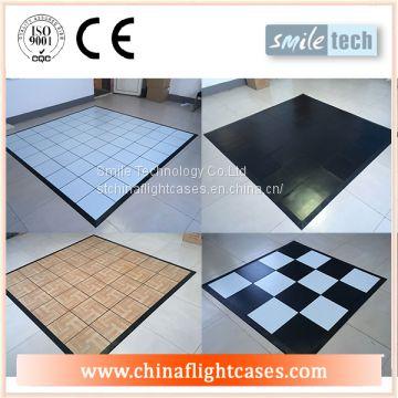 Portable Pvc Dance Floor Plastic