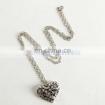 A059 Hot sale Rhinestone Sweet Heart Sweater Chain