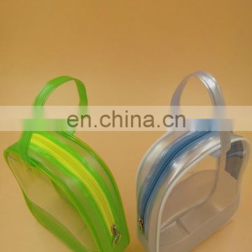 jelly candy color bag clear plastic zip lock bags wholesale cheap designer gift bags