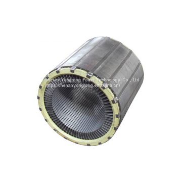 High voltage motor rotor stator silicon steel lamination stamping lamination stackings generator rotor stator core