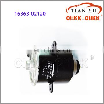 Fan motor OEM 16363-02120 electric fan motor