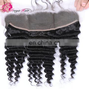 Qingdao hair factory brazilian hair wholesale frontal lace