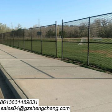 2018 cyclone wire mesh powder coated chain link fence for tennis court