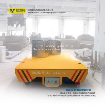 10t rail electric transfer cart for transfer steel pipe, billets , ladle and coil