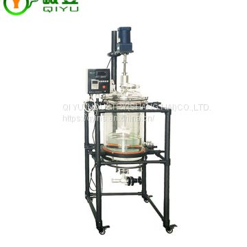High Quality Hot Sele With Explosion Proof Motor Glass Chemical Reactor