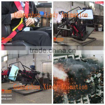 Amusement park equipment car driving simulator,portable 7D cinema, flight  simulator for sale , Quality Choice