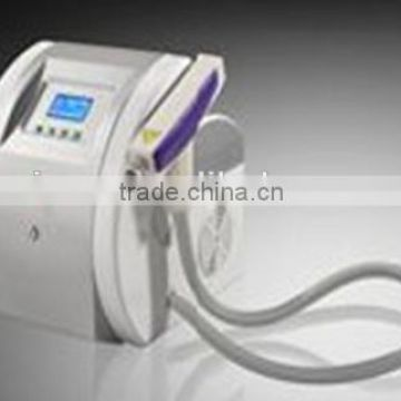 Pigment Removal 2014 Newest Design Ipl Hair Removal Intense Pulsed Flash Lamp Beauty Equipment/e-light Ipl Rf+nd Yag Laser Multifunction Machine