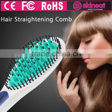 Hot 230 Degree Personalized Fast Heat Up Electric Hair Straightener Afro Pick Comb