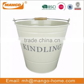 Powder Coating Metal kindling wood Bucket