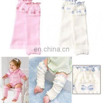 stock! baby leg warmer princess knitting kids leg warmer knitted legging leggings