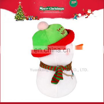 2017 Custom Doll Cute Mini Plush Christmas Snowman