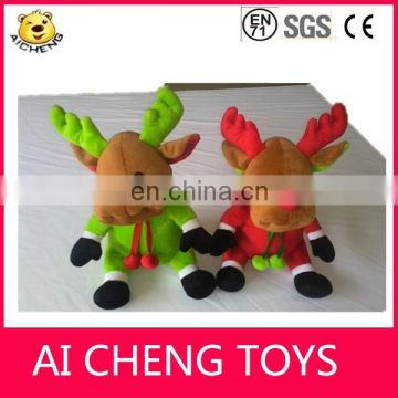 Lovely Christmas Plush Reindeer christmas deer toys christmas decorations plush deer