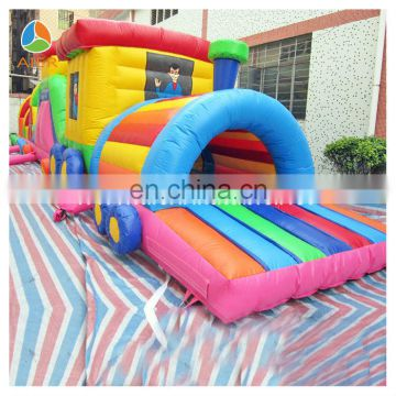 inflatable obstacles sports,inflatable obstacle combo,inflatable train obstacle