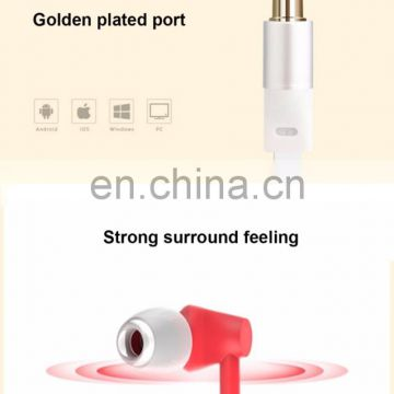JOYROOM haedphone trend 2018 oem stereo metal sports anc in ear active noise cancelling micro wireless earphone
