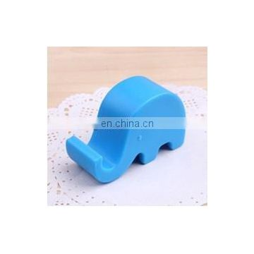 mini elephant design plastic mobile phone holder