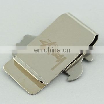 Cheap metal promotional notes holder Money Clip Stainless Steel