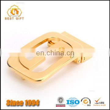 High Quality Custom Shape Metal Belt Buckle For Business Men