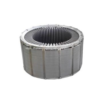 Electric motor rotor stator silicon steel core electric motor stamping lamination stackings generator rotor stator core