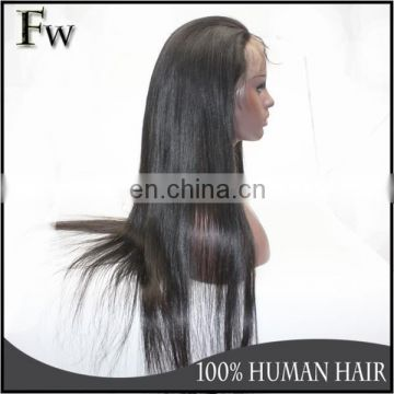Tangle&shedding free top quality 40inch lace wig hair