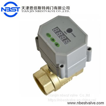 DN15   Timer Controlled Motorized SS304 Ball Valve
