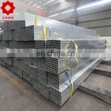 pre gaivanised shs thin walled galvanised steel hollow section pipes 20*30*2.0mm