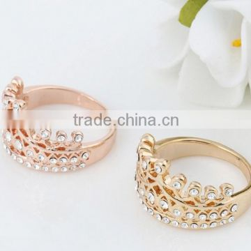 Glass Brass Metal Nickle lead Free Silver Plated Fashion Finger Rings Jewelry costume imitation Artificial Handmade Handicrafts