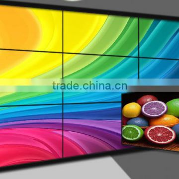 46 Inch DID LCD Video Wall with 3.5mm/5.3mm Ultra Narrow Bezel LED Backlight For Advertising Display in Shopping Mall/Exhibition