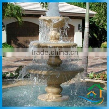 Sculpture sandstone fountains