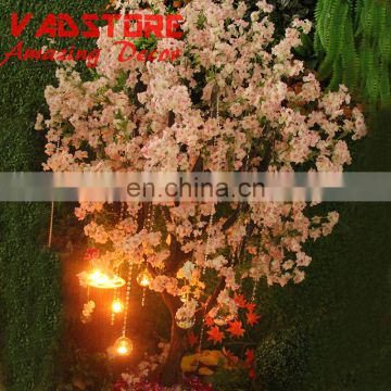 6.5ft artificial pink wood cherry blossom tree indoor artificial silk cherry blossom tree wish tree decor