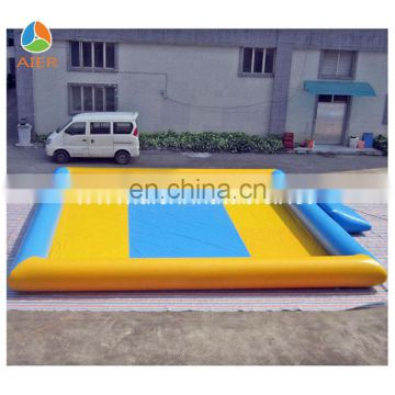 Yellow & Blue Inflatable PVC Swimming pool for kids and adults
