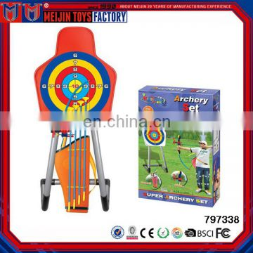 kids shooting game/bow and arrow toy set/sports toys for sale