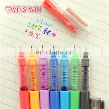 Indonesia Popular Wholesale Creative office supplies and stationery free samples advertising glitter color gel pen