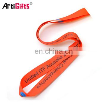 Best price custom printing cheap medal ribbon holder