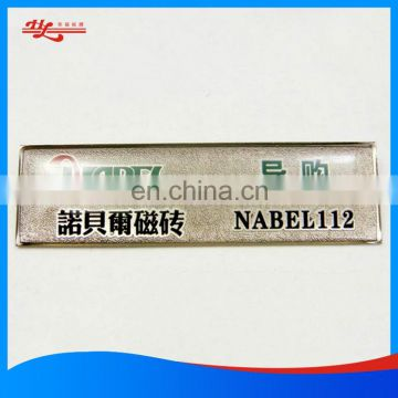 3D Epoxy Resin Domed label
