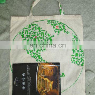 Printed Promotional Cotton shopping tote bag
