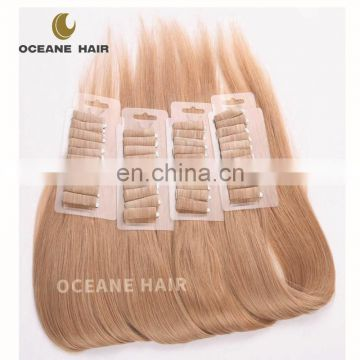 #613 blonde wholesale virgin brazilian tape hair extensions