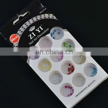 Wholesale colorful bead nail art nail design