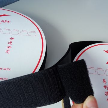 Self -adhesive Red Hook And Loop Tape Apparel Accessories