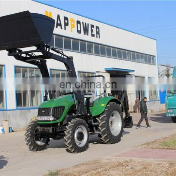 China map power backhoe tractors 100hp 4wd kubota tractor