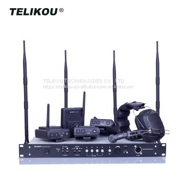 TELIKOU MDS-400 4 channel Full Duplex For Television & Radio