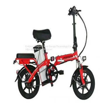 Factory direct intelligent two-wheeled scooter folding electric bicycle