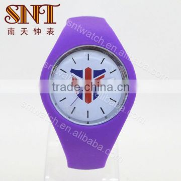 Analogue watches with silicone band nice choice for gift