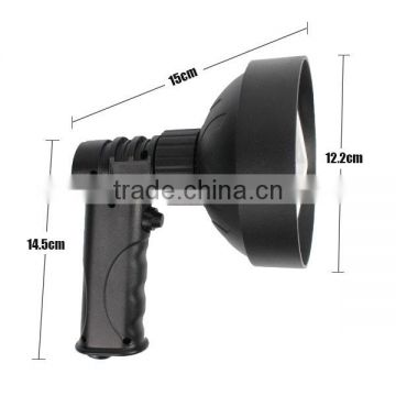 High power CREE 27W LED Handheld Spotlgiht rechargeable 2200lm led security torch for police