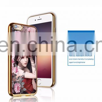 High Quality Fashinal Professional 3D Lenticular Metal Phone Case Made In China